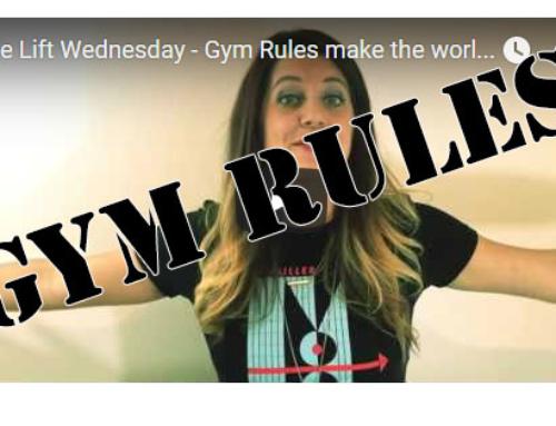 You know the gym, but do you know the rules to the gym?